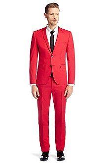 Iconic-Item Anzug ´Adris1/Hebo2` aus Baumwolle