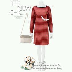 #dress #necklace #bag #pumps #tgc #rtw #coordinate #tokyo #iQON #pintarest #mao_pak #O_range o(^-^o)(o^-^)o