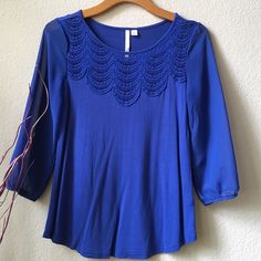 LC Sheer Sleeves Top Cute top from Lauren Conrad.  See through lace on top and sheer sleeves.  Still in great condition! LC Lauren Conrad Tops Blouses