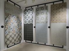CEMENTINE_RETRÓ | Ceramica Fioranese #MadeInItaly #CeramicsOfItaly #CeramicaFioranese #FioraneseCementine #Porcelain #Stoneware #Cersaie2016 Tile Showroom, Showroom Design, 3d Wall, Wall Tile, Tile Covers, Border Tiles, Concrete Floors, Office Interiors, Wall Design