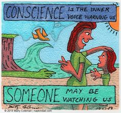 Buffers and Blinders - Conscience #1 http://napkindad.com/blog/2014/10/17/buffers-and-blinders-conscience-1/