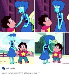 Despite her angst she always finds time to love Steven I'm so happy