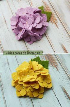 Felt flowers for your hair Felt Flowers, Diy Flowers, Fabric Flowers, Paper Flowers, Felt Diy, Felt Crafts, Fabric Crafts, Flower Crafts, Flower Art