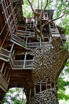 Biggest Treehouse In The World 2013 the minister's treehouse | treehouse and hiking