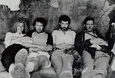 Kate Capshaw, Steven Spielberg, George Lucas, and Harrison Ford