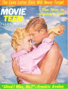 Sandra Dee & Troy Donahue, Movie Teen Magazine