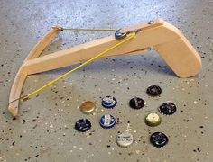 Holz Garten Crossbow pistol # Crossbow pistol What Parents Need to Diy Wood Projects, Fun Projects, Wood Crafts, Diy And Crafts, Into The Woods, Diy Crossbow, Crossbow Arrows, Crossbow Hunting, Hand Crossbow