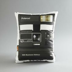 Custom Printed Vintage Camera Photo Pillow by intheseam | Hatch.co