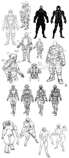 David Siqueira - Character Design Page