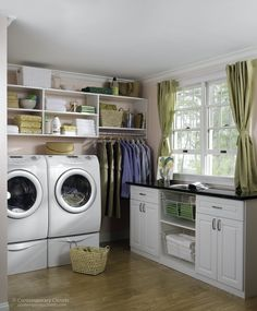 love the nice open space, place to hang clothes and beautiful natural lighting!