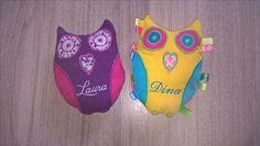 eigen creaties voor borduurmachine, gemaakt voor de meisjes