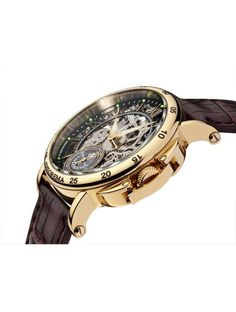 What's so special about Casablanca Theorema watch? Well just take a look at the shape of this fabulously built timepiece, and you will see the style and appeal that this timepiece offers. The mesmeriz Elegant Watches, Stylish Watches, Cool Watches, Watches For Men, Men Accesories, Accessories, Ring Watch, Seiko Watches, Casablanca