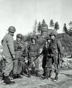 1st Bn 507th Airborne Infantry Regiment parachute wing para oval patch m/e Accessoires, losse onderdelen Overig