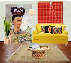 Why do I not have a giant Freda Kahlo print in my living room... this is a huge oversight on my part.