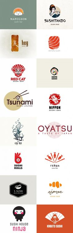 Get an attractive Logo design Within 24 hours . Knock me on skype: qketing Graphisches Design, Design Logo, Japan Design, Sign Design, Branding Design, Logo Inspiration, Logo Restaurant, Typography Logo, Art Logo