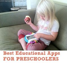 Rage Against the Minivan: best iphone and ipad apps for preschoolers Learning Tools, Learning Activities, Activities For Kids, Preschool Ideas, Best Educational Apps, My Bebe, Cool Kids, Kids Diy, My Children