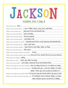 Birthday Interview - literally reminds me of my Jackson. Lol