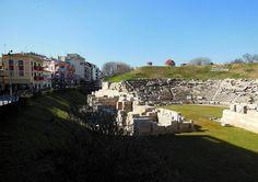 Ancient Theatre Larissa Greece   Markus Klivela   Flickr - Photo Sharing! Summer Jobs, Greece Travel, Homeland, Theatre, Dolores Park, Places To Visit, Greek, To Go, Photos