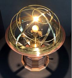 Details about Tower Orrery: Walnut or Oak Base with Armillary and 9 planets - Loveley furniture & decoration - 9 Planets, Solar System Planets, Solar System Model, The Plan, National Geographic, Science Art, Kugel, Diy Kits, Planer