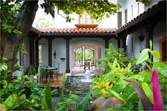 Exotic residence in the Honduras
