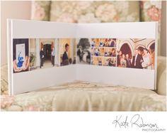 Wedding album layout design (Kate Robinson)