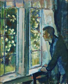Magnus Enckell (Finnish, 1870-1925), By the Window. Oil on canvas, 57 x 48 cm.