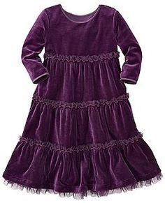 Velour Tutu Twirl Dress by Hanna Andersson
