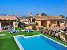 Son Sitges Villa with barbecue pool and a huge garden 139 - Llubí Outdoor Decor, Sitges, 1, Home Decor, Bedroom, Home, Pictures, Pets, Pet Dogs
