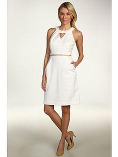 52% Off Now $70.99 Jessica Simpson - Sleeveless Dress (White) - Apparel http://www.freeprintableshoppingcoupons.com
