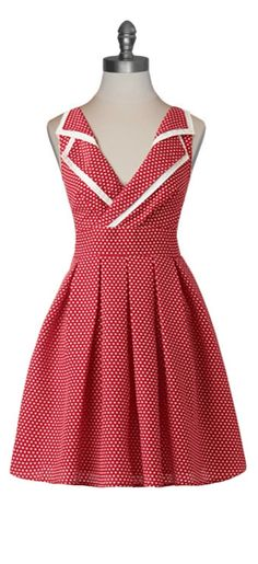 Country Fair Dress #retro #pinup #50s #vintage