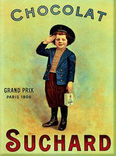 Chocolates Suchard, o la revolución y el marketing
