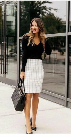 40 Trendy Work Attire & Office Outfits For Business Women Classy Workwear for Pr. - 40 Trendy Work Attire & Office Outfits For Business Women Classy Workwear for Professional Look – - Casual Work Outfits, Work Casual, Classy Outfits, White Outfits, Business Casual Outfits For Women, Office Wear Women Work Outfits, Stylish Outfits, Business Attire For Young Women, Cute Office Outfits