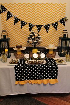 Bumblebee Gender Reveal Party Ideas