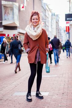 Naomi in Amsterdam [ street style ] #fashion #streetsfashion #streetstyle