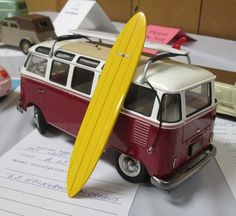 VW Bus built model kit
