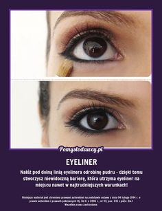 PROSTY TRIK NA TRWAŁY EYELINER O KTÓRYM NIE WIESZ! Diy Beauty, Beauty Hacks, Makeup Tips, Eye Makeup, Perfect Eyes, Mani Pedi, Good Advice, Fun Facts, Diy And Crafts