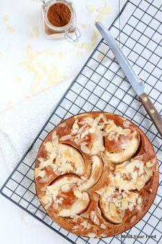 Speculaas yoghurtcake met appel - Mind Your Feed
