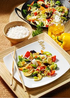 Detox-Diät - Kur 6. Tag: Mittagessen - Asiatische Gemüsepfanne mit Chinakohl