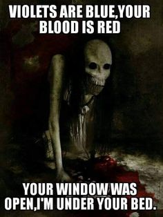 Your Blood is Red - http://legacyofhorror.org/2016/08/your-blood-is-red/