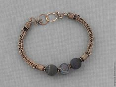 Viking knit bracelet | Jewelry
