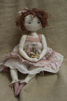 Aurélie et son toutou dans sa si jolie robe fleurie