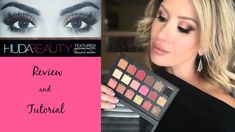 In this video I give you my honest thoughts on the new, limited edition, Huda Beauty Rose Gold textured ey. Beauty Tips For Teens, Makeup For Teens, Beauty Make Up, Huda Beauty Rose Gold Palette, Huda Beauty Eyeshadow, Pink Eye Makeup, Kiss Makeup, Beauty Hacks With Baking Soda, Beauty Logo