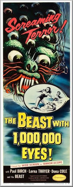The Beast With 1,000,000 Eyes (1956)