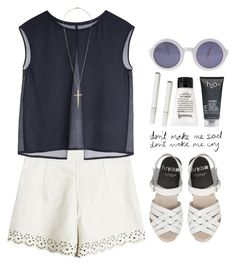 """Sin título #270"" by maartinavg ❤ liked on Polyvore featuring MTWTFSS Collection, philosophy, H2O+, Chanel and Topshop"