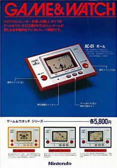 Nintendo Game & Watch (1980)