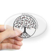 Adoption Roots Oval Sticker Sticker Oval by CafePress - Clear Adoption Roots Oval Sticker Sticker Oval by CafePress - Clear From CafePress Adoption Gifts, Adoptive Parents, Roots, Sticker, Baby, Stickers, Baby Humor, Infant, Decal
