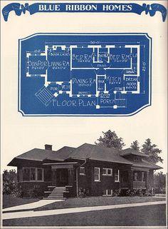 1924 Brick Bungalow    American Builders