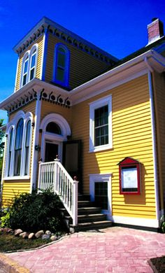 Fleur de Sel. French cuisine in Lunenburg, Nova Scotia. One of the top restaurants in the province. And so cute!