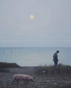 Quint Buchholz   Am Strand (On the Beach), 2006