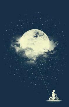 H iphone wallpaper night, butterfly wallpaper iphone, dream illustration, landscape illustration, luna Art And Illustration, Landscape Illustration, Moon Art, Moon Moon, Stars And Moon, Belle Photo, Fantasy Art, Art Photography, Street Art